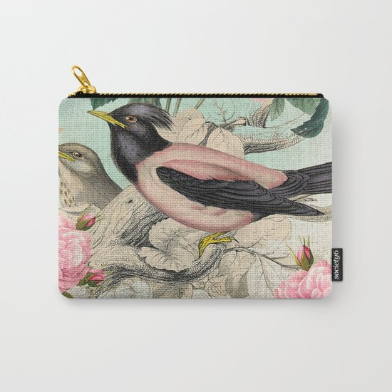 Vintage birds #3 Carry-All Pouch