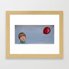 The Red Balloon Framed Art Print