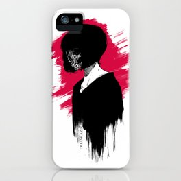 Red Anomie iPhone Case