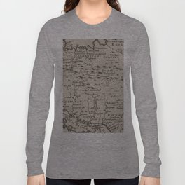 Map of Persia, 1701 Long Sleeve T-shirt