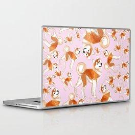 Akita Inu (Pattern) Laptop & iPad Skin