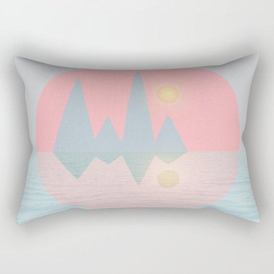Spring Landscape III Rectangular Pillow