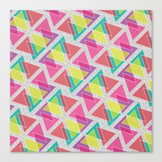 Let's Celebrate The Triangle Canvas Print