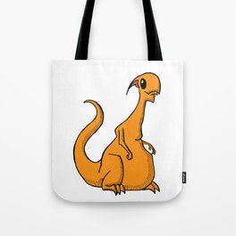 Lucien the Monster Tote Bag
