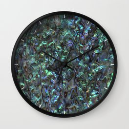 Abalone Shell | Paua Shell | Natural Wall Clock