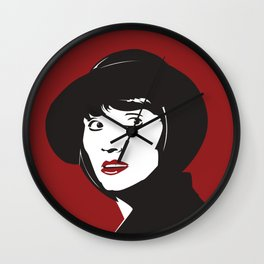 Phryne Wall Clock