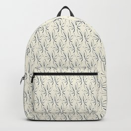 Classic Leaves navy and white Backpack