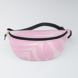 Palm Leaves in Pink Shades #Society6 #decor #buyart Fanny Pack