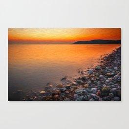 Seashore Sunset Canvas Print