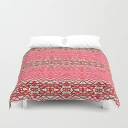 Carpe Diem Fish Scales Duvet Cover