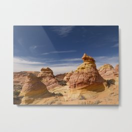 The Beehive Rocks Metal Print