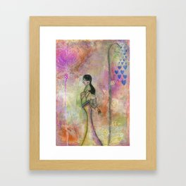 Surrounded by love Framed Art Print