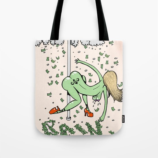 Make it Rain. Tote Bag