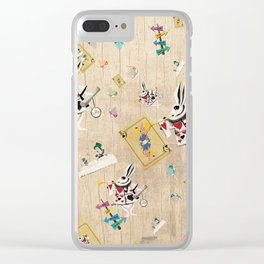 I'm Late I'm Late Clear iPhone Case
