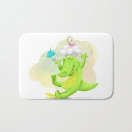 Slippery gator Bath Mat