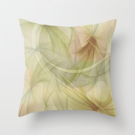 Soft Colors of Nature  Throw Pillow