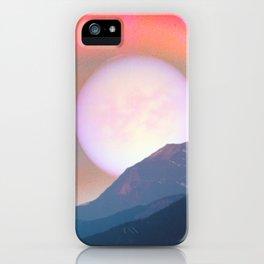 mystic mountain iPhone Case