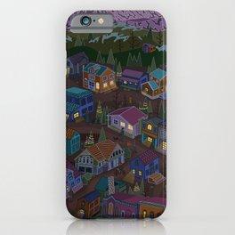 Adventure Town iPhone Case