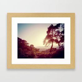 THERE'S ALWAYS A WAY OUT Framed Art Print