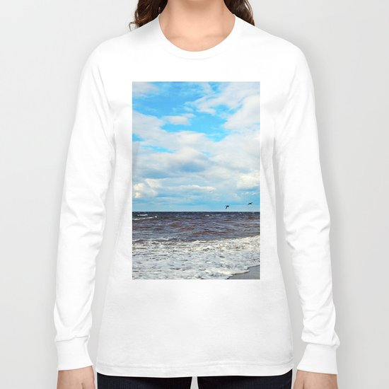 Flying Cormorants Long Sleeve T-shirt
