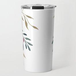Floral Veil Travel Mug
