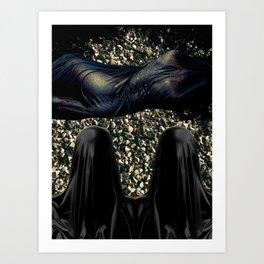 Stellar Yeller Art Print