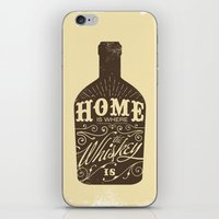 whiskey iPhone & iPod Skins featuring Whiskey by irosebot