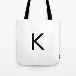 Capital K Tote Bag