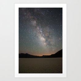 Milky Way - Death Valley Art Print