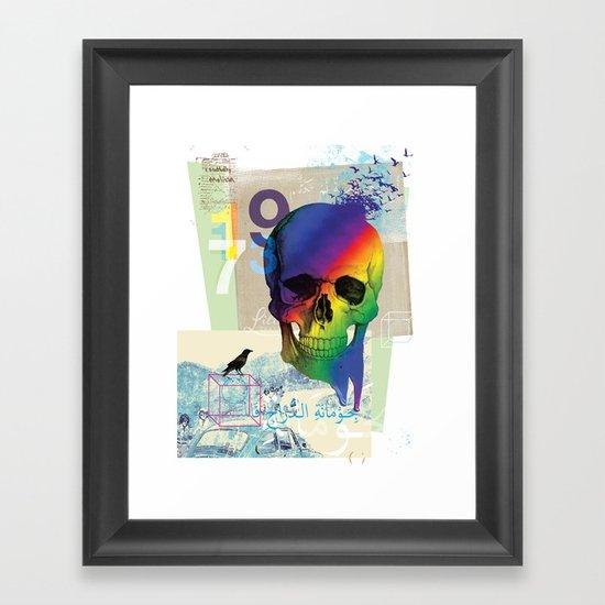 Sweet Death Framed Art Print