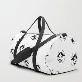 SIBERIAN HUSKY DOG Duffle Bag