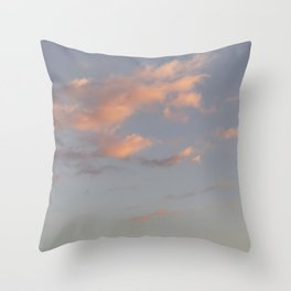 Dream | cloud photography Throw Pillow