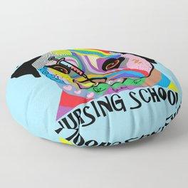 I Survived Nursing School Floor Pillow