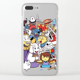 Undertale Clear iPhone Case