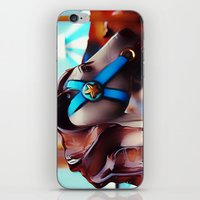 carousel iPhone & iPod Skins featuring Carousel by Noonday Design