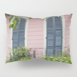New Orleans Pink Front Porch Pillow Sham