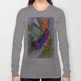 Red Postman Butterfly Long Sleeve T-shirt