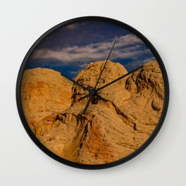 White Pocket, Vermilion Cliffs - II Wall Clock