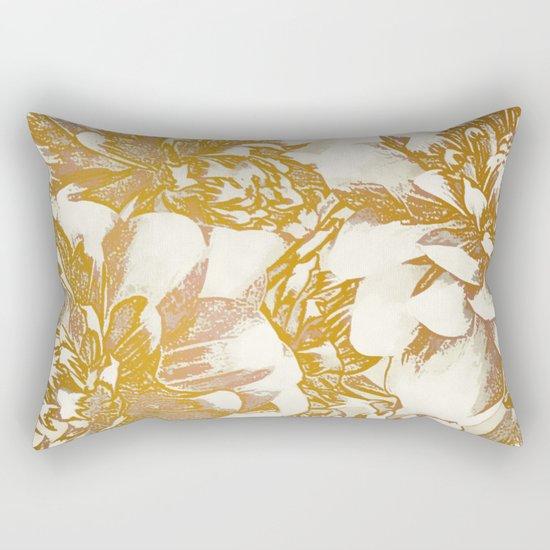 Proud Dahlias Rectangular Pillow