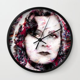 GRETA GARBO Wall Clock