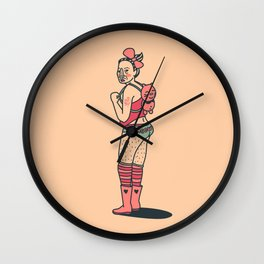 People on the Web - MEOW Wall Clock