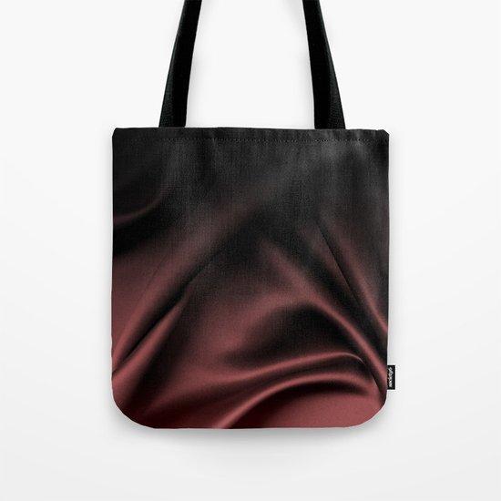 Silk Marsala Ombre Tote Bag