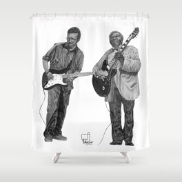 Clapton/King Shower Curtain