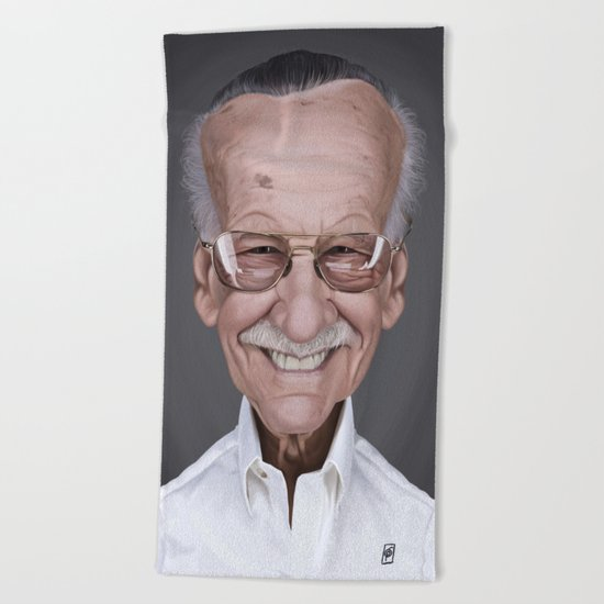 Stan Lee Beach Towel