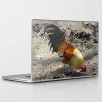 chicken Laptop & iPad Skins featuring Chicken by Mylittleradical