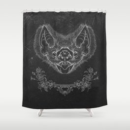 Bat Shower Curtain