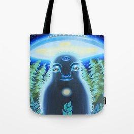 SpaceSquatch Tote Bag