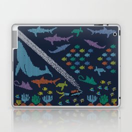 Scuba diving – Knitted ecosystem Laptop & iPad Skin