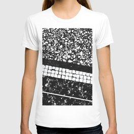 Terrazzo Pattern Black & White #1 #texture #decor #art #society6 T-shirt