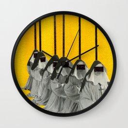 Nuns Wall Clock
